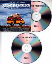 Beyond The Horizon 2008 UK 34-track promo test 2-CD Manu Chao Youssou N'Dour