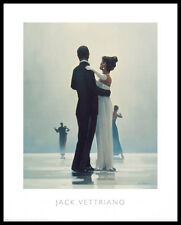 Jack Vettriano Dance me to the End of Love Poster Kunstdruck und Rahmen 50x40cm