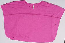 Lane Bryant Cacique Womens Batwing Sleeveless Pink Sleep Shirt Size 18/20