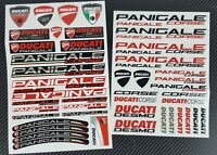 Panigale R 899 949 1199 1299 motorcycle decal set 49 stickers Laminated Ducati