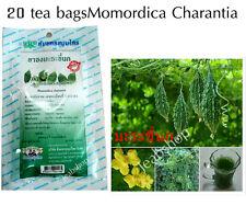 20tea bagsOrganic vegetarian momordica charantia bitter melon blood sugar reduce
