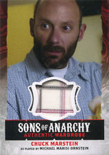 Sons of Anarchy Season 4 & 5 Wardrobe Costume Card W16 Michael Ornstein as Chuck