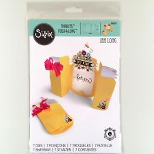 Sizzix Jar Fold-A-Long Thinlits Die Set Mason Canning Card Making Craft