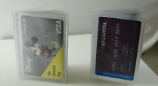 Plastic Wallet Insert 6 pages (SET OF 5 )Card/Picture Holder