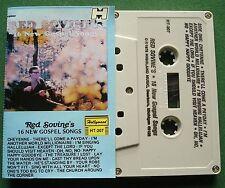 Red Sovine 16 New Gospel Songs Hollywood Label HT-207 Cassette Tape - TESTED