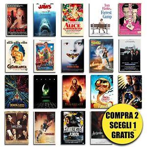 Poster film locandina dei migliori film cult poster per arredamento stanza casa