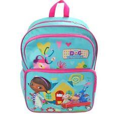 """Doc McStuffins16"""" Large Back Pack, Schoolbag, Rucksack, Travel Bag, UK SELLER"""