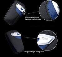 Genuine Key Fob Holder Bag Cover Case Modern line For BMW 1 3 5 6 Series X3 NEW