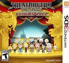 Theatrhythm Final Fantasy: Curtain Call [Nintendo 3DS, Square Enix Music] NEW