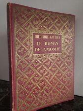 Le Roman de la Momie Théophile Gautier Hachette 1934 ARTBOOK by PN