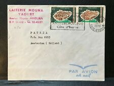 1976 Ivory Coast Air Mail Cover to Holland - ref233