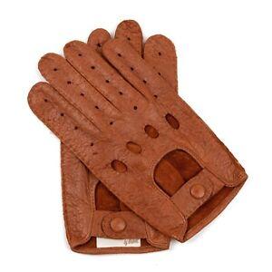 Weikert-Handschuhe - Exklusive Auto Lederhandschuhe aus Peccary, ungefüttert