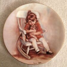 "Marian Carlsen ""Amy And Snoopy"" Haviland Limoges Collector Plate 1977"