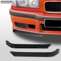 E36 M3 lip bumper GT front Spoiler Splitter bottom 92-98 BMW M elerons apron csl