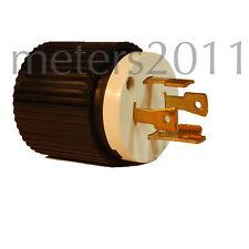 L14-30 Locking Plug 30A 125/250V (L14-30P) - UL APPROVED