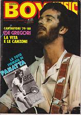 BOY Anno VIII n° 50 con inserto STARBOY- DE GREGORI e la foto firmata di PANATTA