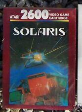 SOLARIS Atari 2600 NEW Sealed Boxed PAL not USA/NTSC