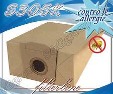 S305K 8 sacchetti filtro carta x Bosch Serie BB 23.. Alpha BBS 2325