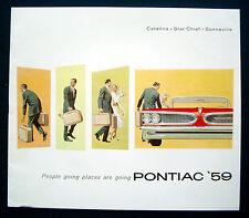 Prospekt brochure 1959 Pontiac Catalina * Star Chief * Bonneville (USA)