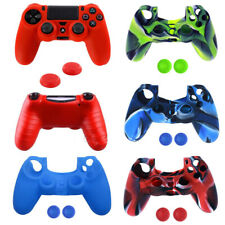 Soft Silicone Cover Skin Rubber Grip Case for SONY PlayStation 4 /Slim/ Pro
