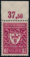 DR 1922, MiNr. 199 b, tadellos postfrisch, gepr. Dr. Oechsner, Mi. 90,-