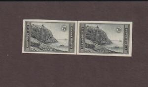 US,762,RARE gummed,MNH VF,LINE PAIR,FARLEY 1935 NATIONAL PARKS,MINT NH