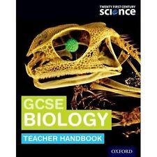 Veinte primer siglo de la ciencia: profesor de biología GCSE manual por Mary..