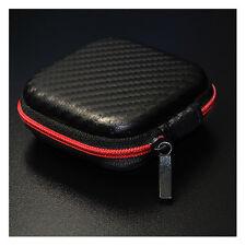 Etui Housse Pochette Rangement Sac Bloqué Pour Ecouteur Cable MP3 Portable Mode