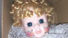 """Brinn'S 1989 Collectible Porcelin Clown Doll 15"""" Tall Coa Black/White"""