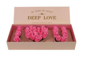 I love you flower box, Flower box. Deep love box. I love U box. FREE SHIPPING!!!