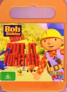 BOB THE BUILDER DVD Put It Together NEW & SEALED Free Post