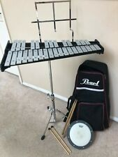 Pearl Pk910 Percussion Bell Kit with Backpack, Practice Pad, Sticks & Mallets