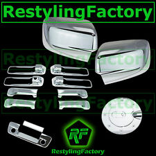 09-15 Dodge Ram Chrome Mirror no Light+4 Door Handle+Tailgate w. KH+CM+Gas Cover