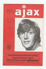 Orig.PRG   UEFA Cup  1976/77   AJAX AMSTERDAM - MANCHESTER UNITED  !!  SELTEN