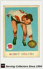 RARE -1964 VFL Scanlens Card #10 Bobby Skilton (Sth Melbourne)-Excellent