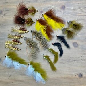 (18) MFC Montana Streamer Assorted Fly Fishing Flies Galloup's Articulated Jig