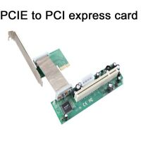 PCI Express PCIE To PCI Adapter expansion Card  Chip Riser Extender for Desktop