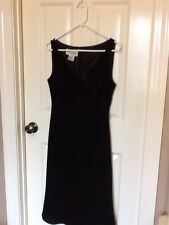 Women's Evan-Picon Black Dress, Size 10