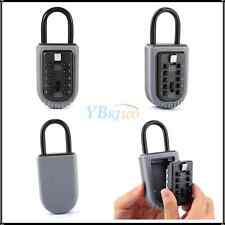 Portable Combination Outdoor Key Protect Security Lock Wall Mounted Holder Box