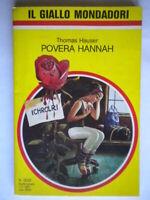 Povera HannahHauser Mondadori giallo2022 marritt curtiss highsmith c nuovo 72