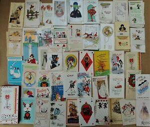 Vintage Whist Bridge Tally Score Cards Large Lot/Collection El Dorado Klondyke