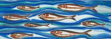 New listing Image-Art-Print-Relaxing-swimming-fishes-on-silk-Anonymous-81x25In-Print-on-Pap