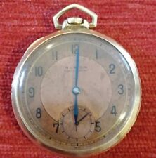 vintage ruxton pocket gold plated watch