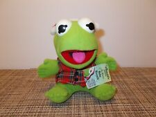 Kermit the Frog Stuffed Muppet Jim Henson Vintage McDonalds 1988