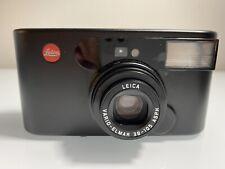 Leica C1 35mm Point & Shoot Film Camera Vario Elmar 38-105mm Lens Black
