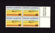 SCOTT # 1506 Rural America Issue United States Stamps MNH - Margin Block of 4