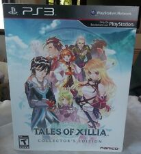 TALES OF XILLIA Collector's Edition PS3 Disc SPOTLESS Figurine & CD Still Sealed