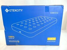 """Etekcity Camping Air Mattress Inflatable Airbed Blow up Bed Tent Mattress 9""""Twin"""