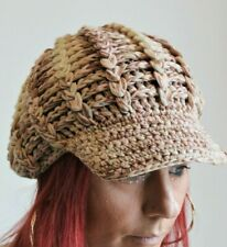 Missoni Mainline Hat Baker Boy Muted Tones Woven Wool Bobble Top Size One Size