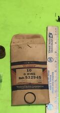 Studebaker, Wagner wheel cylinder piston O rings, lot of 10, 532945.  Item: 9573
